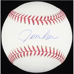 Jim Rice Signed OML Baseball (Schwartz COA)