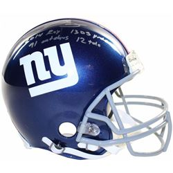 """Odell Beckham Jr. Signed Giants LE Full-Size Authentic On-Field Helmet Inscribed """"2014 ROY"""", """"1305 y"""