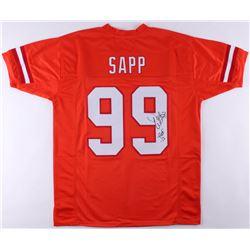 """Warren Sapp Signed Buccaneers Jersey Inscribed """"HOF 13"""" (JSA COA)"""