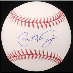 Cal Ripken Jr. Signed OML Baseball (AI Verified COA)