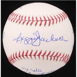 Reggie Jackson Signed OML Baseball with Multiple Inscriptions (JSA Hologram)