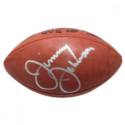 Jimmy Johnson Signed NFL Football (PSA COA)