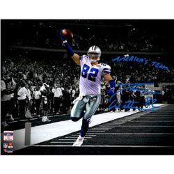 "Jason Witten Signed Cowboys 11x14 Photo Inscribed ""America's Team"" (Fanatics Hologram)"