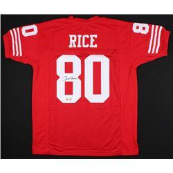 Jerry Rice Signed 49ers Jersey (JSA COA  Rice Hologram)