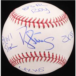 """Darryl Strawberry Signed OML Baseball Inscribed """"8x All-Star"""", """"83 NL ROY"""", """"2x SS""""  """"4x WS Champs"""""""