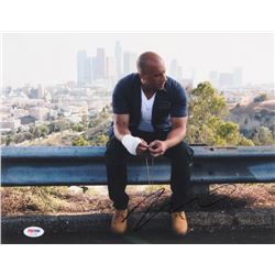 "Vin Diesel Signed ""Fast  Furious"" 11x14 Photo (PSA COA)"