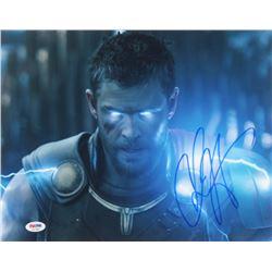 "Chris Hemsworth Signed ""Thor: Ragnarok"" 11x14 Photo (PSA COA)"