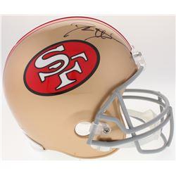 Deion Sanders Signed 49ers Full-Size Helmet (JSA COA)