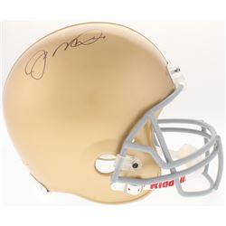 Joe Montana Signed Notre Dame Fighting Irish Full-Size On-Field Helmet (JSA COA)