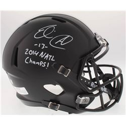 "Eli Apple Signed Ohio State Buckeyes Full-Size Speed Helmet Inscribed ""2014 NATL Champs!"" (Radtke CO"