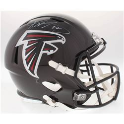 Keanu Neal Signed Falcons Full-Size Speed Helmet (Radtke COA)