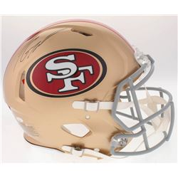 Jimmy Garoppolo Signed 49ers Full-Size On-Field Speed Helmet (Radtke COA)