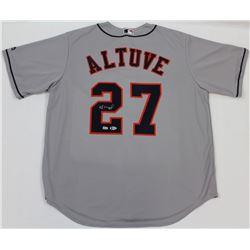 Jose Altuve Signed Astros Jersey (Beckett COA  MLB Hologram)