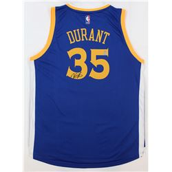 Kevin Durant Signed Warriors Jersey (Panini  Steiner Hologram)