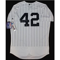 Mariano Rivera Signed Yankees Jersey (Steiner COA)