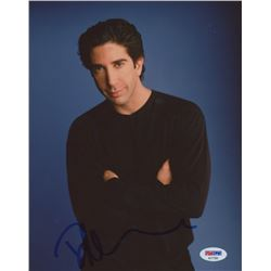 David Schwimmer Signed 8x10 Photo (PSA COA)