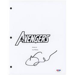 Mark Ruffalo Signed  The Avengers  Movie Script Cover (PSA COA)