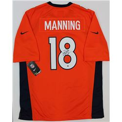 Peyton Manning Signed Broncos Jersey (Steiner COA)