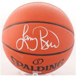 Larry Bird Signed NBA Basketball (Radtke Hologram)