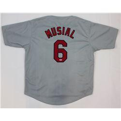Stan Musial Signed Cardinals Jersey (PSA COA)