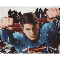 "Brandon Routh Signed ""Superman"" 8x10 Photo Inscribed ""Best!"" (PSA COA)"