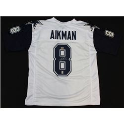 Troy Aikman Signed Cowboys Jersey (Radtke COA  Aikman Hologram)