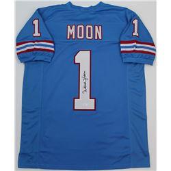 Warren Moon Signed Oilers Jersey (JSA COA)
