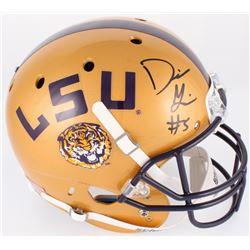 Derrius Guice Signed LSU Tigers Full-Size Alternative Helmet (Radtka COA)