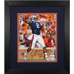 Cam Newton Signed Auburn Tigers 13.75x15.5 Custom Framed Photo Display (PSA COA)