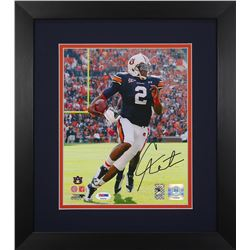 Cam Newton Signed Auburn Tigers 13.75x15.5 Custom Framed Photo Display (PSA COA  Newton Hologram)