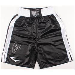 Roy Jones Jr. Signed Everlast Boxing Trunks (Schwartz COA)