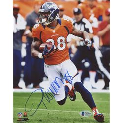 Demaryius Thomas Signed Denver Broncos 8x10 Photo (Beckett COA)