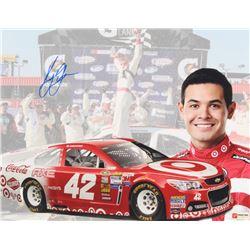 Kyle Larson Signed NASCAR #42 11x14 Photo (PA COA)