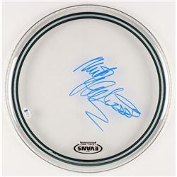 "Mick Fleetwood Signed 14"" Drum Head (Beckett COA)"