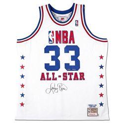 Larry Bird Signed LE 1990 NBA All-Star Jersey (UDA COA)