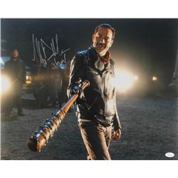 "Jeffrey Dean Morgan Signed ""The Walking Dead"" 16x20 Photo Inscribed ""Negan"" (JSA COA)"