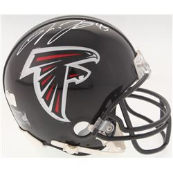 Deion Jones Signed Falcons Mini-Helmet (Radtke COA)