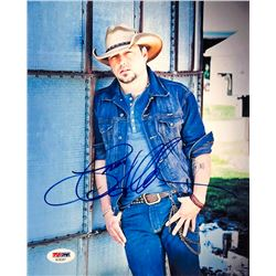 Jason Aldean Signed 8x10 Photo (PSA COA)