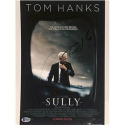 "Tom Hanks  Aaron Eckhart Signed ""Sully"" 11x14 Photo (Beckett COA)"