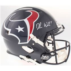 Deshaun Watson Signed Texans Authentic On-Field Full-Size Speed Helmet (JSA COA)