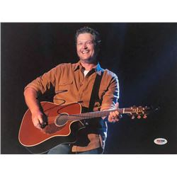 Blake Shelton Signed 11x14 Photo (PSA COA)