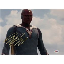 "Paul Bettany Signed ""Captain America: Civil War"" 11x14 Photo (PSA COA)"