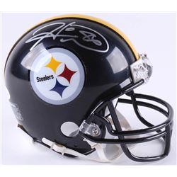 Hines Ward Signed Steelers Mini-Helmet (JSA COA)