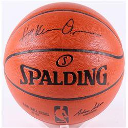 Hakeem Olajuwon Signed NBA Game Ball Series Basketball (JSA COA)