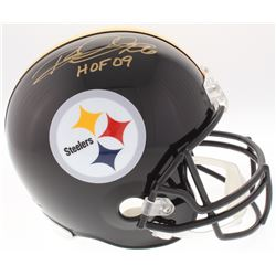 "Rod Woodson Signed Steelers Full-Size Helmet Inscribed ""HOF 09"" (JSA COA)"