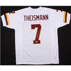 "Joe Theismann Signed Redskins Jersey Inscribed ""1983 NFL - MVP"" (JSA COA)"