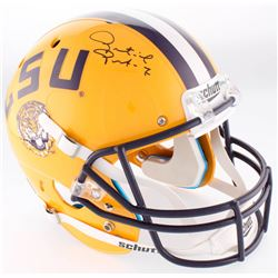 Patrick Peterson Signed LSU Tigers Full-Size Helmet (JSA COA)