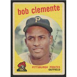 1959 Topps #478 Roberto Clemente