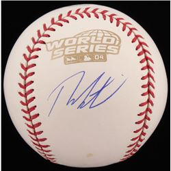 Theo Epstein Signed 2004 World Series Baseball (Schwartz Sports COA)