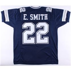 Emmitt Smith Signed Cowboys Jersey (PSA COA)